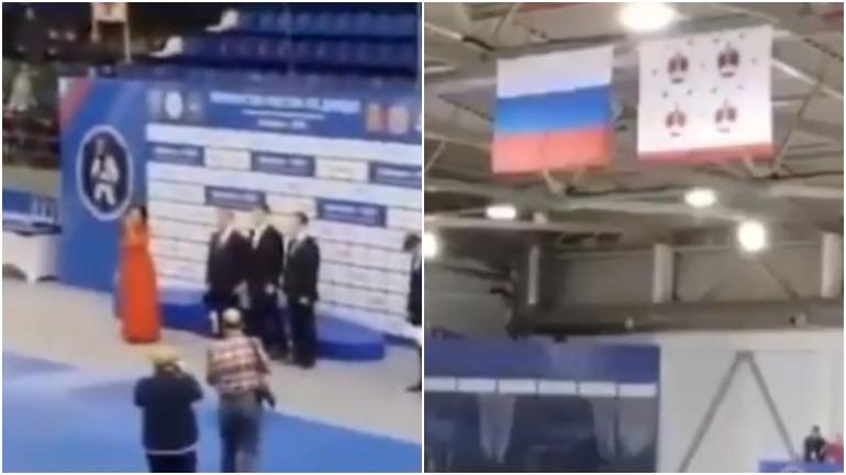 В Дмитрове певица забыла слова гимна России