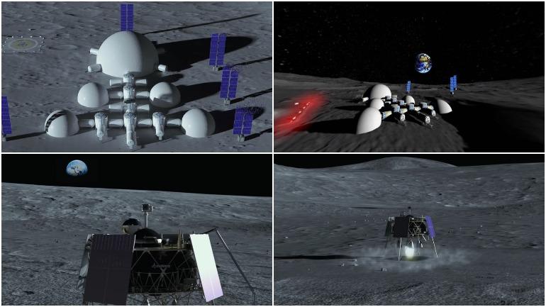 """Украина представила панораму своей """"лунной базы"""""""