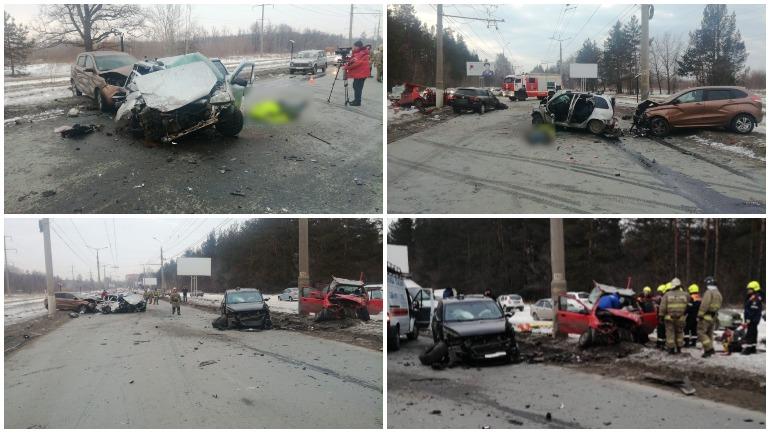 Опубликовано видео смертельной аварии в Тольятти