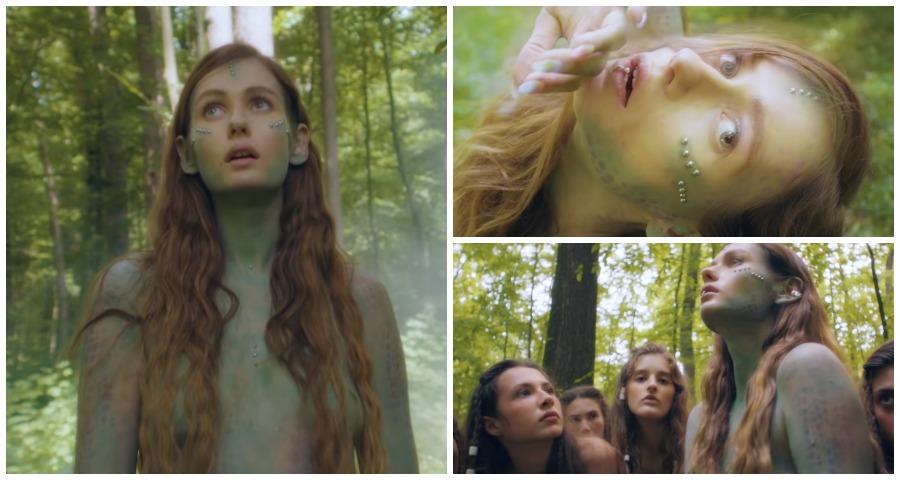 Клип с полуголыми лесными нимфами выпустила певица Луна