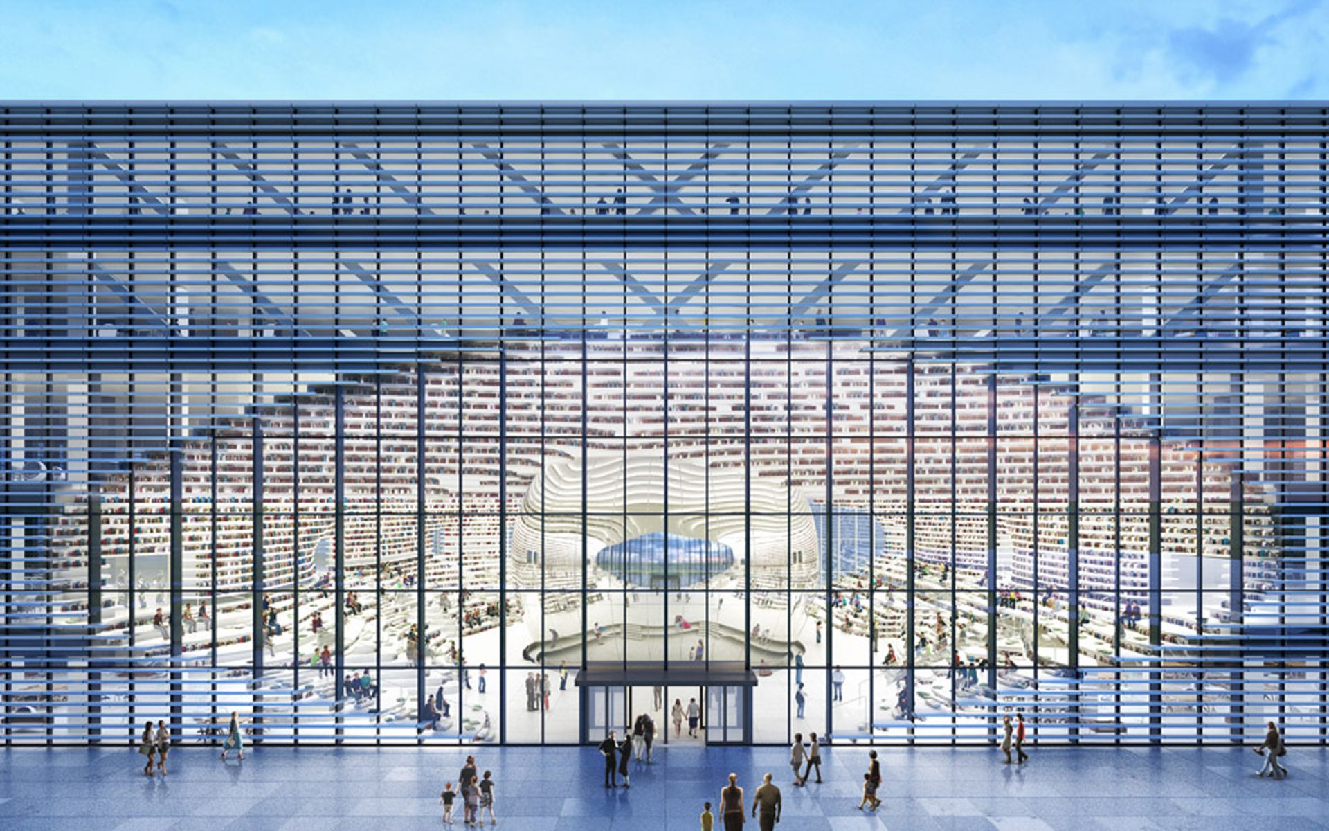 Архитектура для книг: необычные библиотеки мира