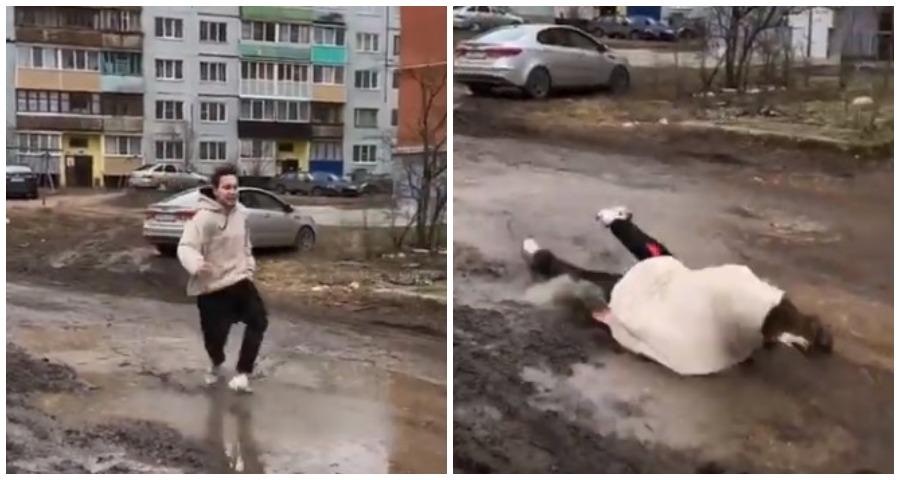 Звезда соцсетей из Петербурга сделал забавное видео о развлечениях в Пскове