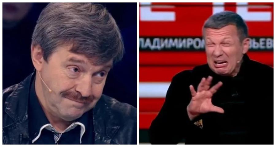 Соловьев накричал на приглашенного гостя в прямом эфире своей программы