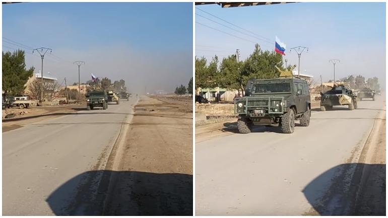 Американские военные сбежали с блок-постов на трассе М4 в Сирии после угрозы российских военных