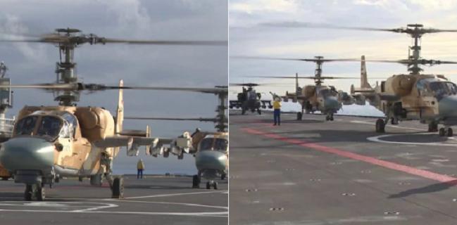 """Вертолеты Ка-52 и Apache встретились """"лицом к лицу"""" во время учений в Египте"""