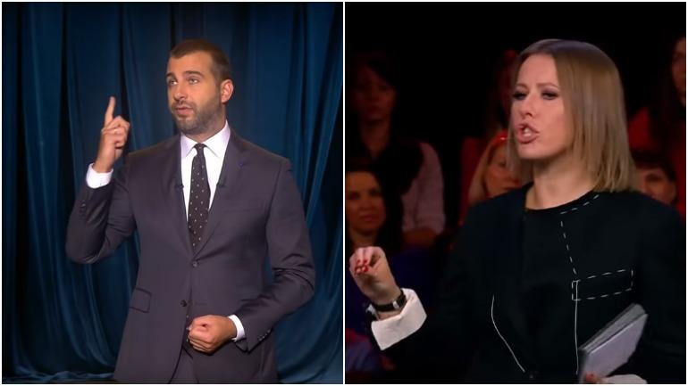 Ургант выразил обеспокоенность отсутствием Гордона на новом шоу Ксении Собчак