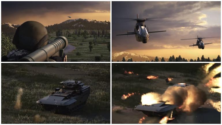 """В рекламном ролике американский вертолет уничтожил российскую """"Армату"""""""
