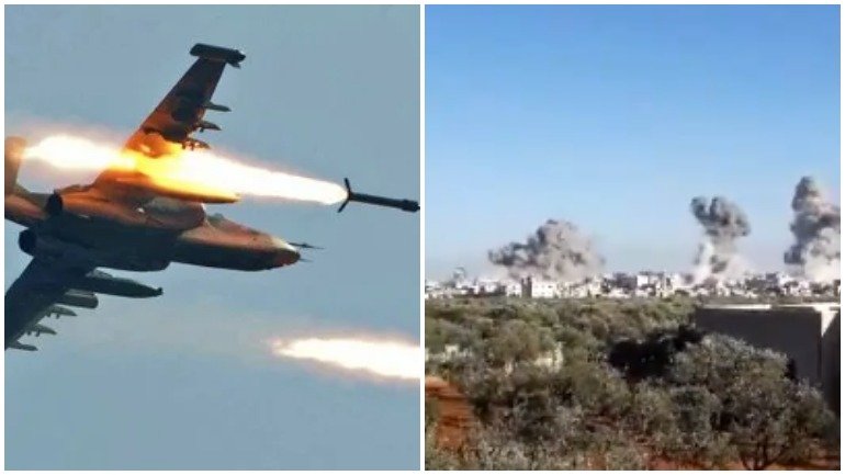 ВКС России уничтожили несколько танков, вооруженных сил Турции, переданных боевикам