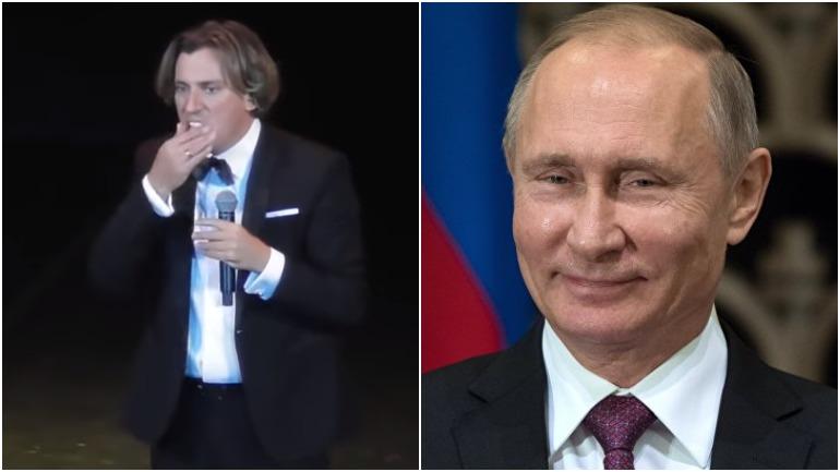 Путин отреагировал на шутку Галкина
