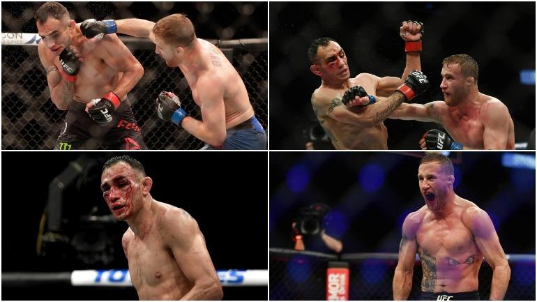 Видео: Гэтжи одержал победу над Фергюсоном на UFC 249
