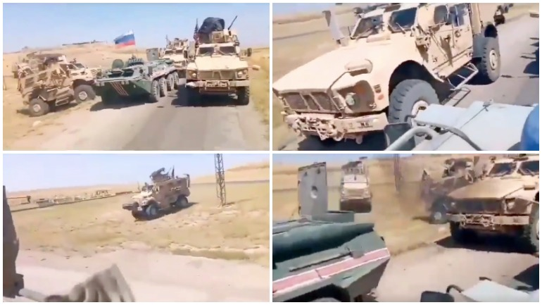 Военные РФ снова продемонстрировали свое превосходство над американцами в Сирии