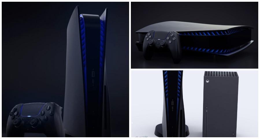 В Интернете опубликован новый вариант дизайна Play Station 5