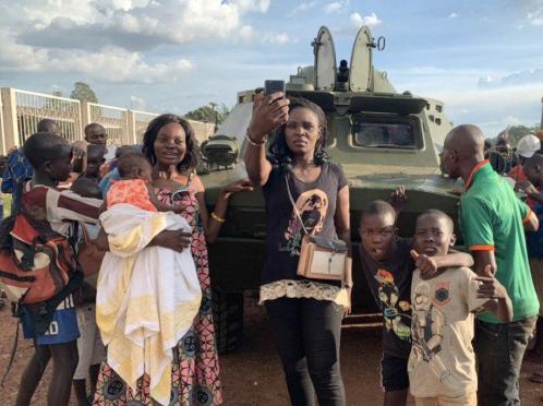 Новая партия БРДМ пользуется популярностью у центральноафриканцев