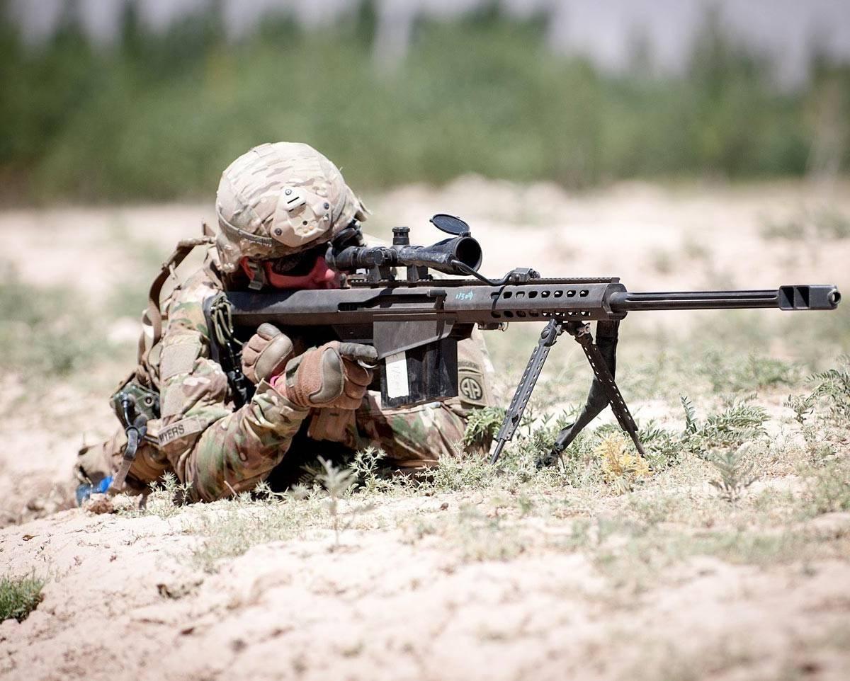 Британский снайпер одним выстрелом уничтожил пять террористов