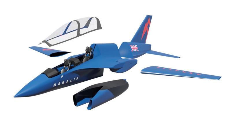 Британская Aeralis сообщила о старте создания модульного реактивного самолета