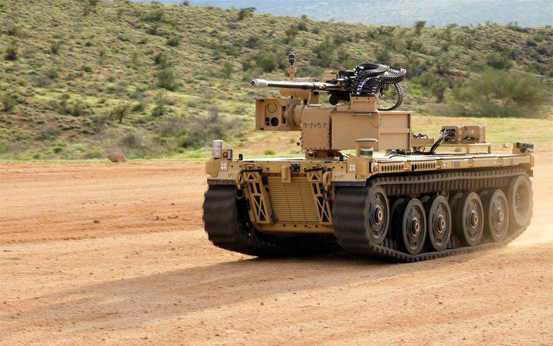 Боевые роботы испытываются армией США