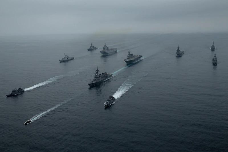 Marine Times: состоялись военные учения Японии, США и Франции для противодействия Китаю