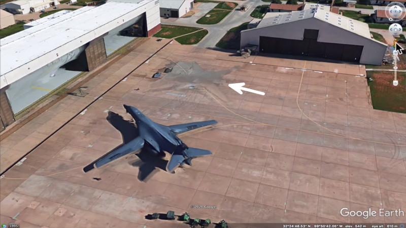 «Сверхсекретные» технологии визуальной невидимости бомбардировщика B-1