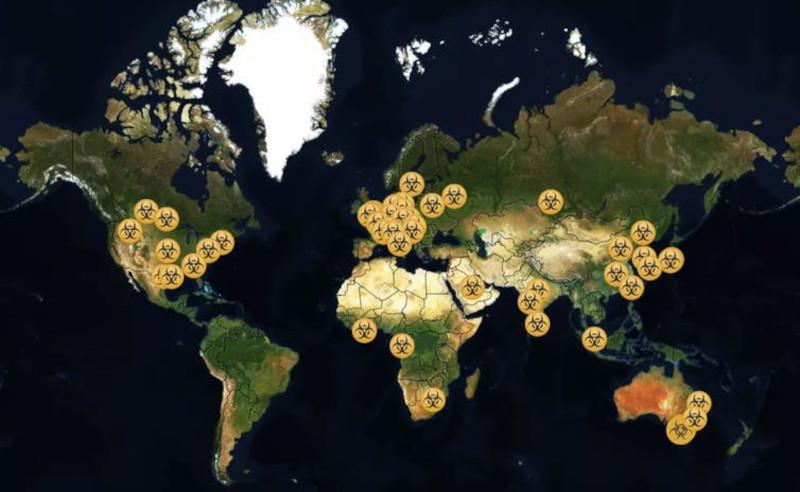Со смертоносными патогенами работают 59 лабораторий по всему миру