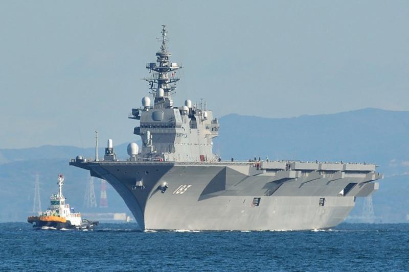 Мощь японских ВМС на фоне слабости королевского флота Великобритании