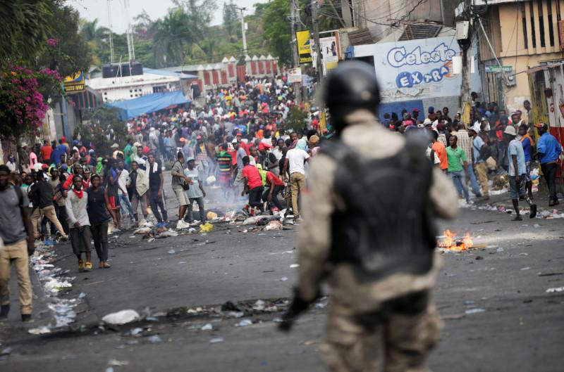 Лидер банд Гаити объявил о «революции насилия»