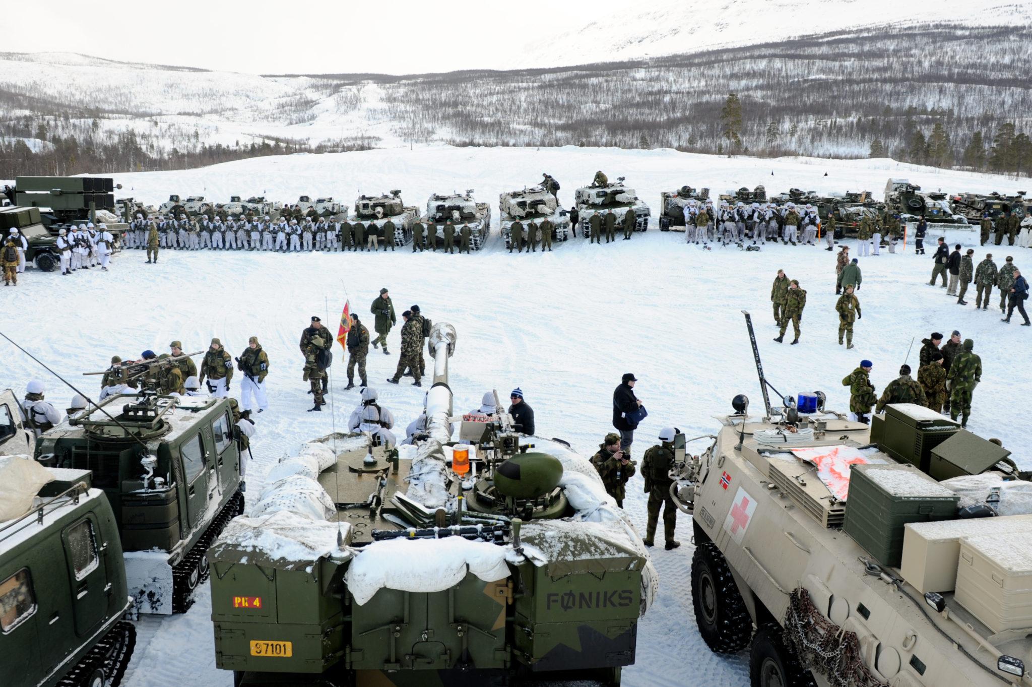 Посольство РФ  назвало военные учения сучастием США вАрктике провокационными