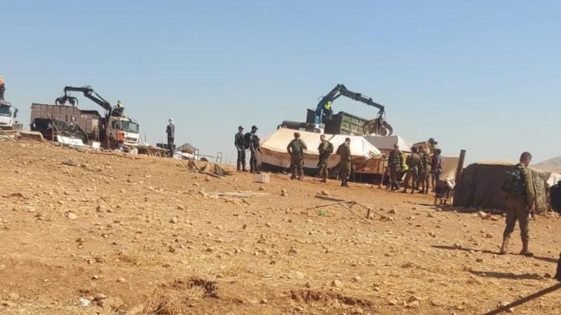 Израиль в седьмой раз разрушил палестинскую общину на Западном берегу