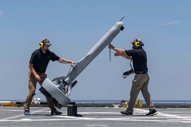 Дрон вертикального взлета и посадки V-Bat будет оснащен ИИ для возможности роения