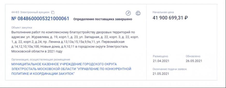 Жители Электростали переживают за судьбу сквера у местного ДК