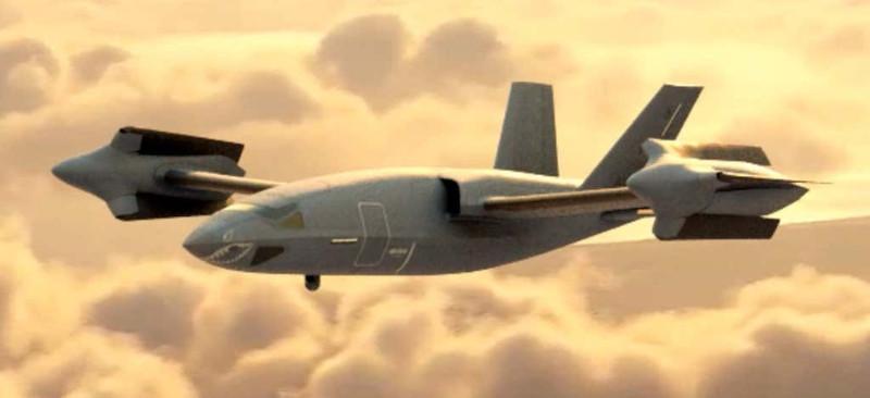 Компания Bell Helicopter показала концепции летательных аппаратов HSVTOL