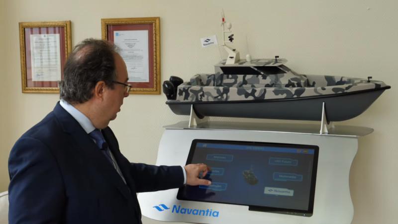 Испанская Navantia представила надводный беспилотник Viento