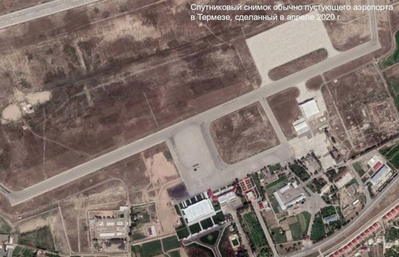 Десятки самолетов и вертолетов афганских ВВС обнаружены на узбекском аэродроме