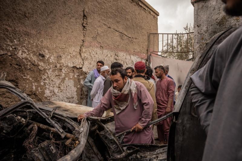 NYT: афганская семья утверждает, что американская ракета убила 10 ее родственников, в том числе 7 детей