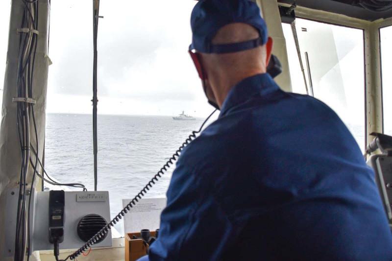 Группа боевых кораблей Китая прошла возле Аляски в конце августа