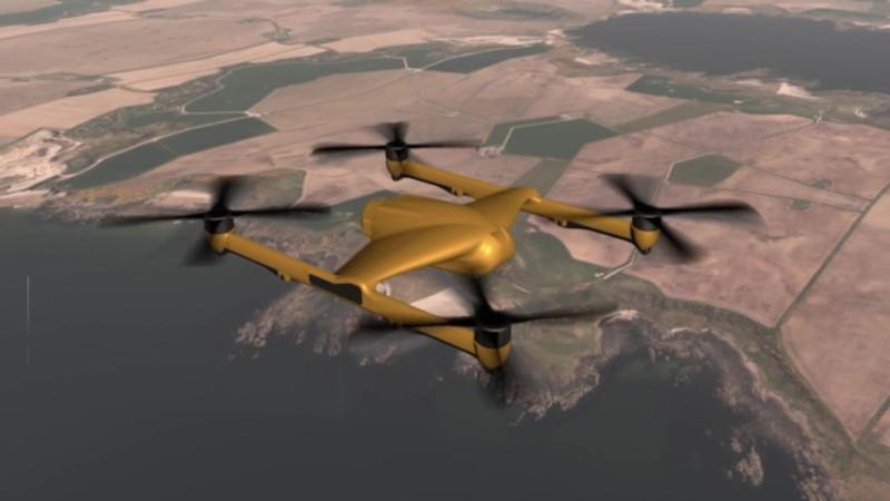 Великобритания: BAE совместно с Malloy Aeronautics создадут большегрузный квадрокоптер-беспилотник