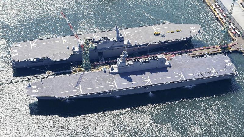 Япония: переоборудованный в авианосец «Идзумо» проведет летные испытания F-35B